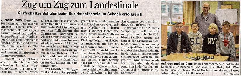 Bericht GN Schach